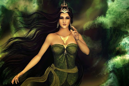 Famous Folklore From Indonesia: The Legend of Nyi Roro Kidul