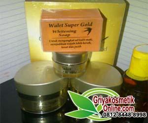 PAKET WALET SUPER GOLD PREMIUM 5 IN 1 ORIGINAL | CREAM