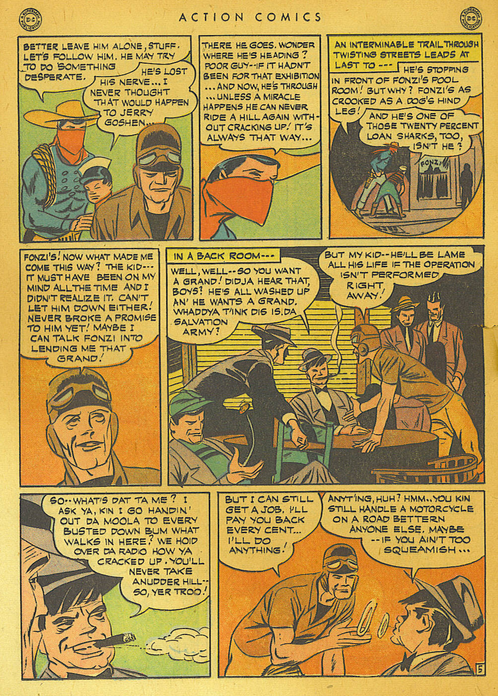 Read online Action Comics (1938) comic -  Issue #74 - 20