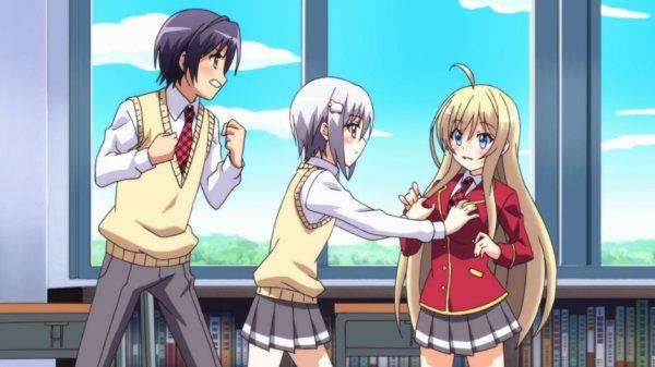 20 Anime Harem Terbaik Yang DiJamin Bikin Jomblo Iri