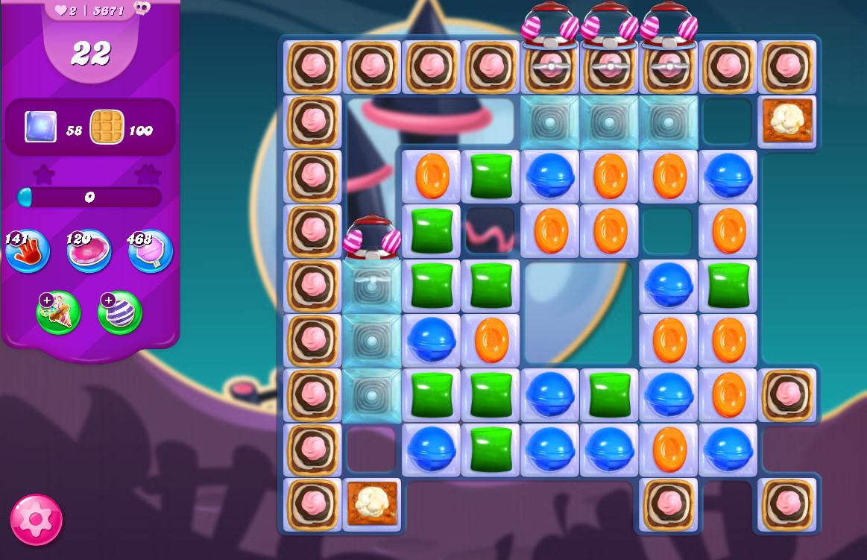 Candy Crush Saga level 5671