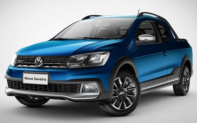 Volkswagen Saveiro 2020 Cross Cabine Dupla