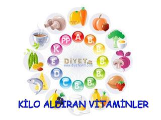 kilo almak için vitamin