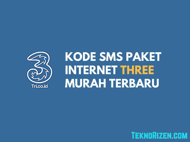 Tri terdapat beragam variasi paket internet murah harian Kode SMS Paket Internet 3 Tri Harian Murah Lengkap Terbaru