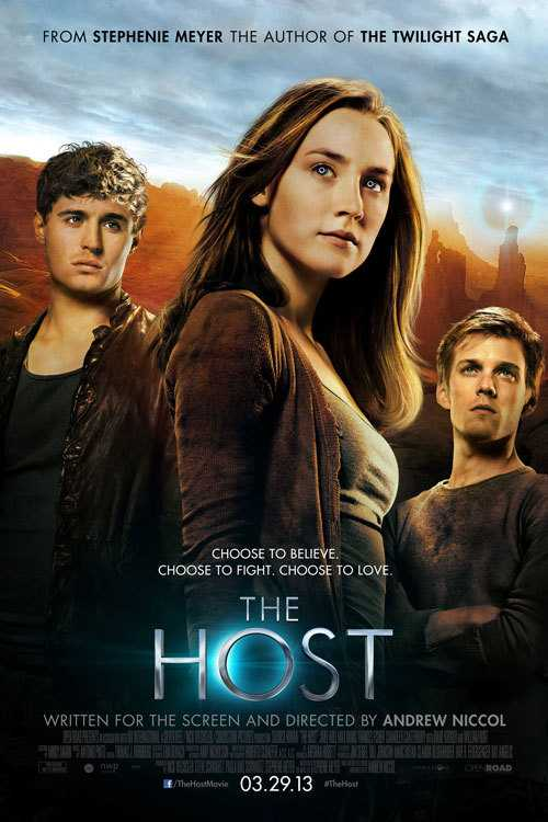 Poster The Host 2013 Full Movie Dual Audio Hindi Free Download 300Mb
