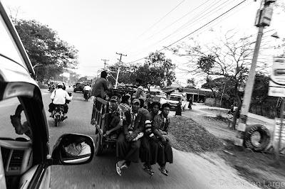Route de Nyaung-U à Magwe