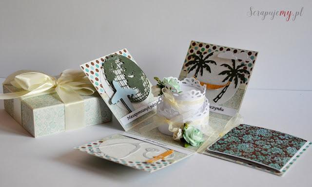 kartka pudełko, pudełko z życzeniami, wybuchające pudełko, rozpadające się pudełko, box z tortem, box z życzeniami, pudełko z życzeniami, inna kartka, box