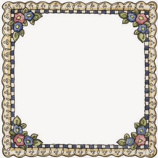 flowers in country style  free printable frames  borders and labels