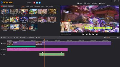 Screenshot GoPlay Editor Pro 1.3.1 Full Version