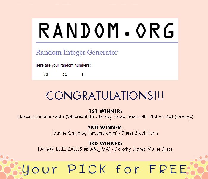 Free contest winner generator