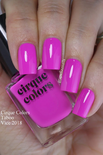 cirque colors vice 2018 Taboo