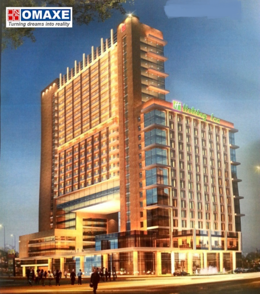 omaxe holiday inn hotel office space mullanpur new-chandigarh