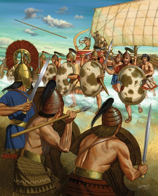 Πολέμησαν οι Μυκηναίοι ως μισθοφόροι στους στρατούς των Φαραώ;