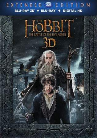 The Hobbit The Battle of The Five Armies 2014 BRRip 500Mb Hindi Dual Audio 480p Watch Online Full Movie Download bolly4u