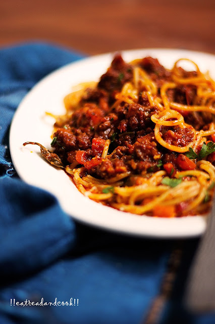 how to cook Spaghetti Alla Bolognese recipe and preparation