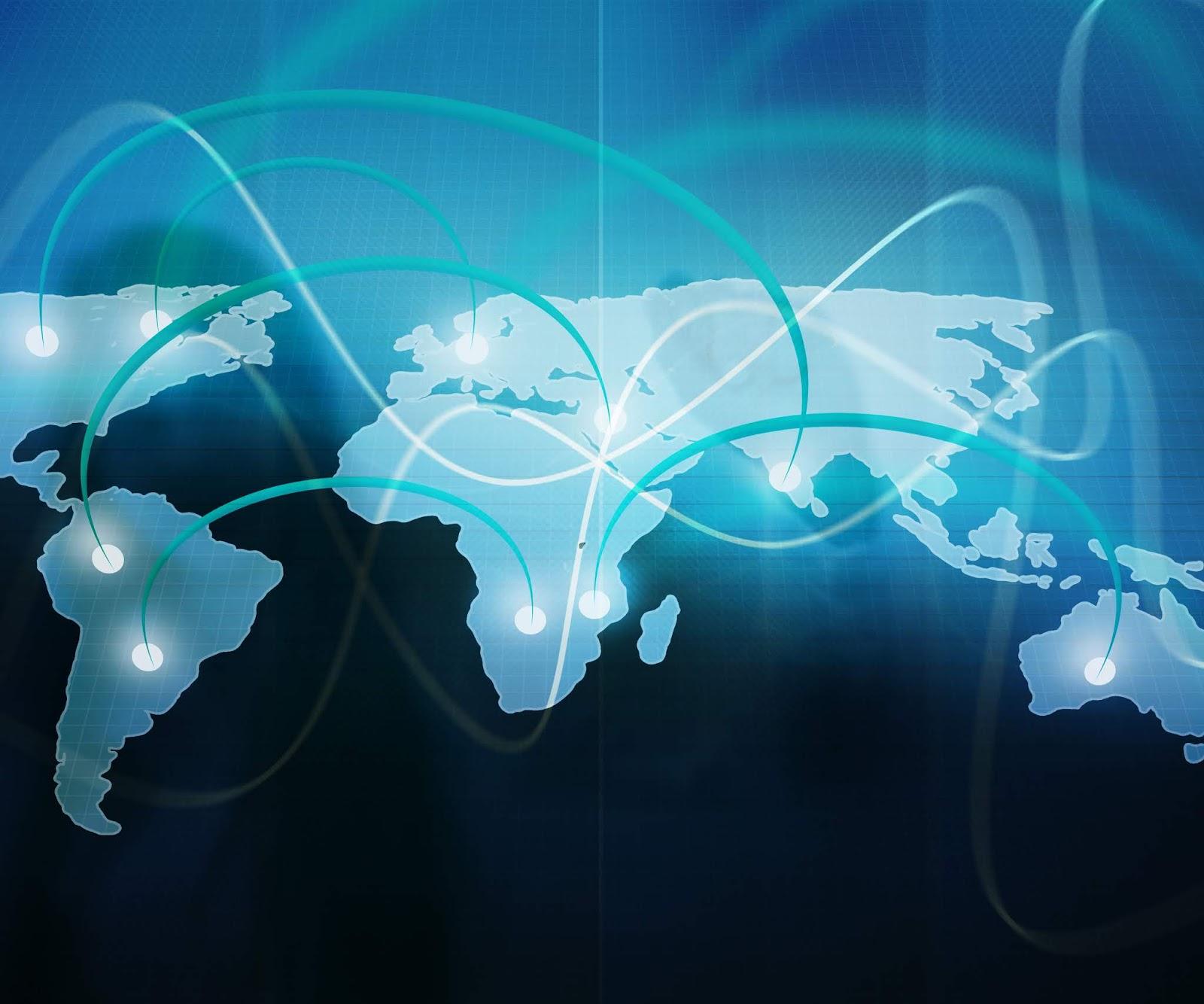 World Web Business Stock Photo