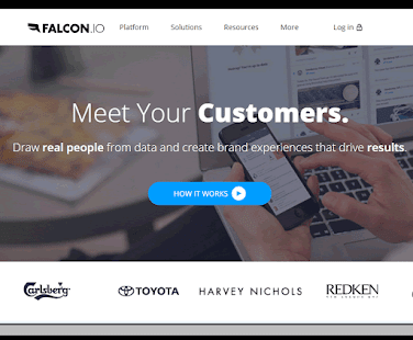 Falcon Social features tools for social media listening, engagement, publishing, measuring and customer data management