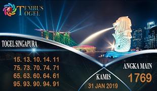 Prediksi Angka Togel Singapura Kamis 31 January 2019