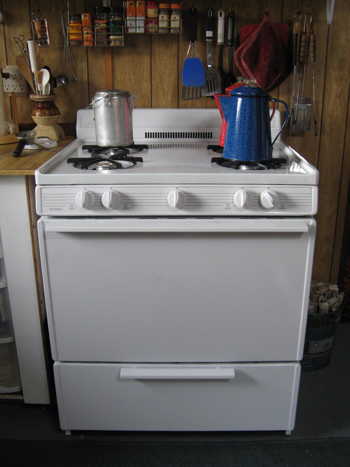propane kitchen stove small outdoor kitchens powell river books blog premier 30 quot freestanding