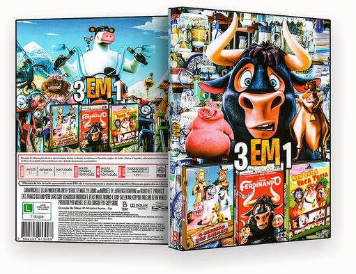 CAPA DVD – Cine Infantil 3 Em 1 Vol.2 – ISO