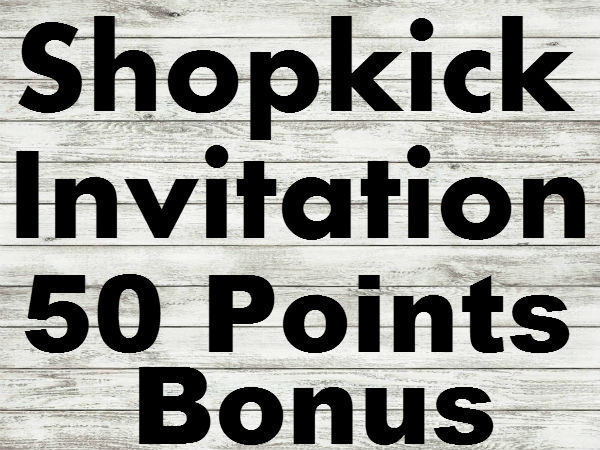 Shopkick 50 Points Bonus Invitation, Promo Codes, Referral Code, Bonus Code