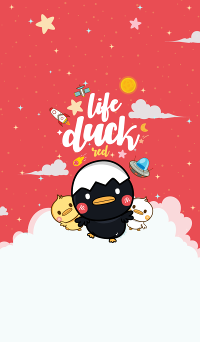 Duck Life Galaxy Red