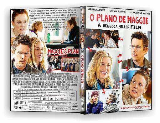 DVD-R O Plano de Maggie 2018 – OFICIAL