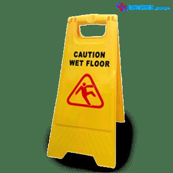 Papan Peringatan Tanda Membersihkan Lantai (Wet Floor)