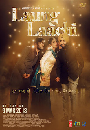Poster Of Pollywood Movie Laung Laachi 2018 300MB HDRip 480P Full Punjabi Movie
