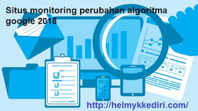 Situs monitoring perkembangan algoritma google