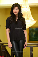 Shruti Haasan Looks Stunning trendy cool in Black relaxed Shirt and Tight Leather Pants ~ .com Exclusive Pics 082.jpg