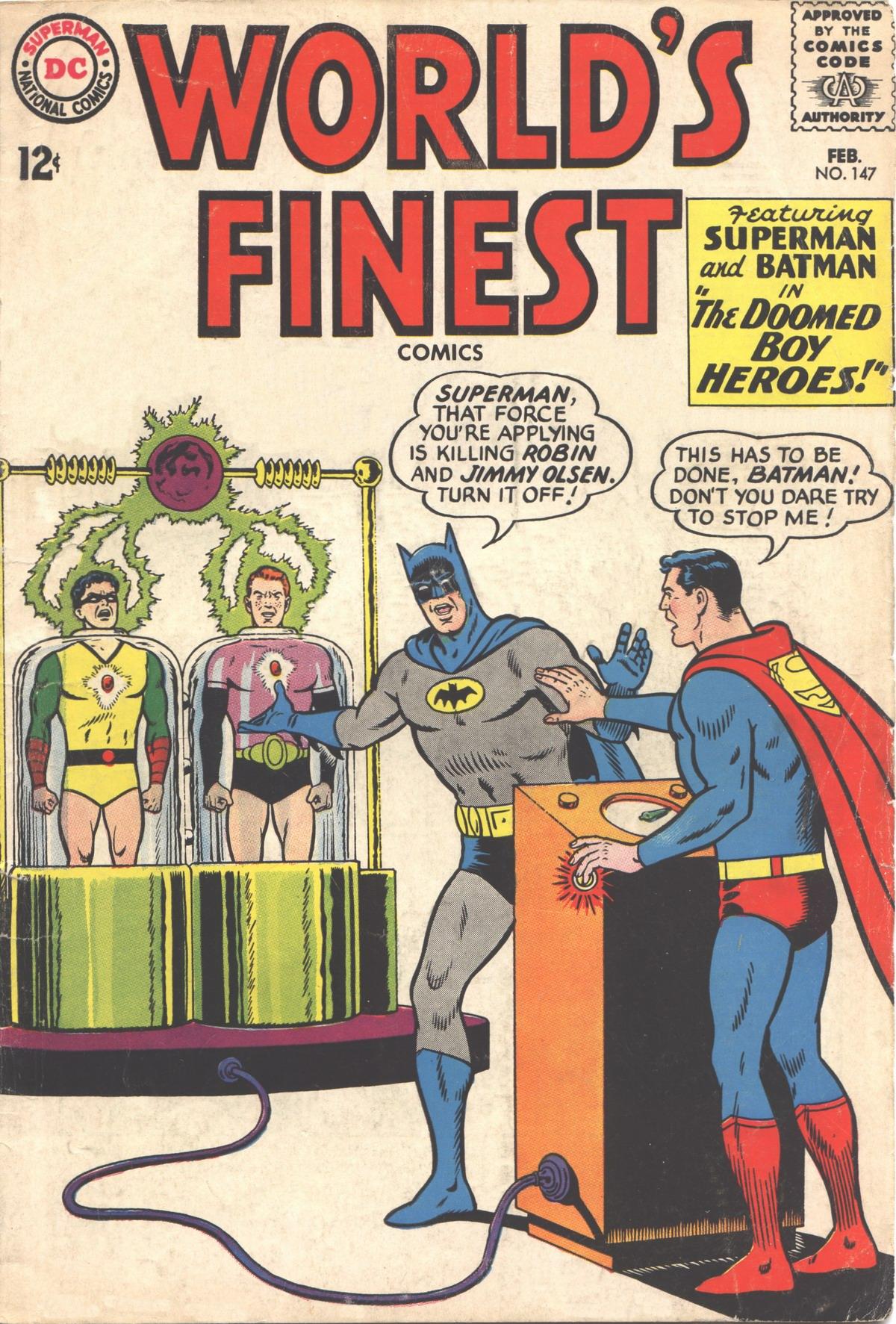 Read online World's Finest Comics comic -  Issue #147 - 1