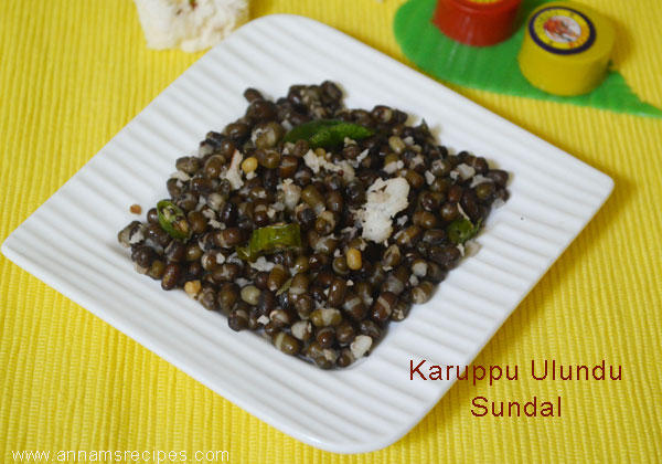 Karuppu Ulundu Sundal