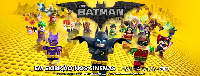 estreia nos cinemas Lego Batman o filme