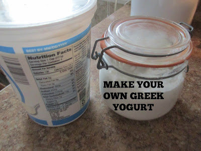 Make your Own Gree Yogurt