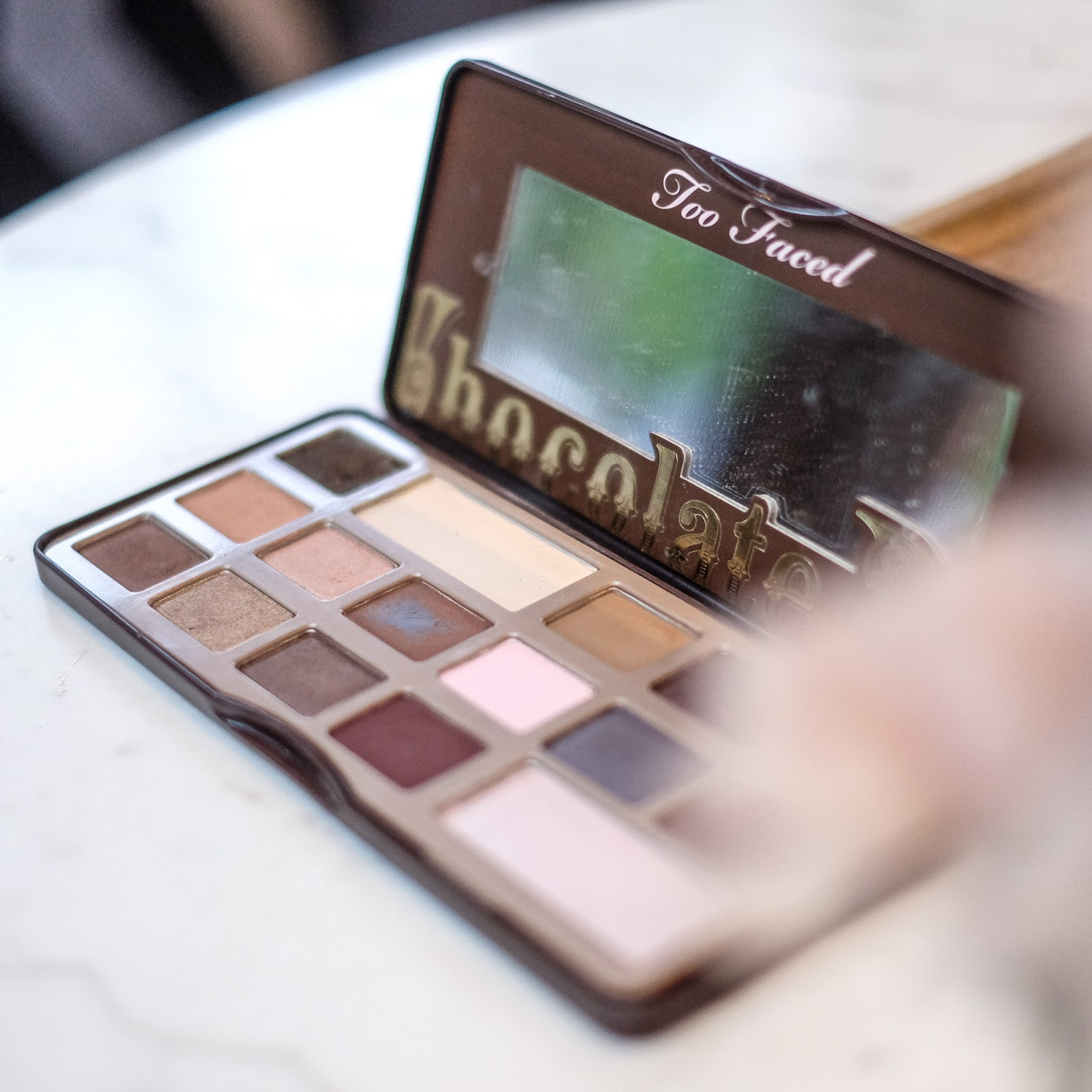 Too Faced Chocolate Bar Review and Swatch