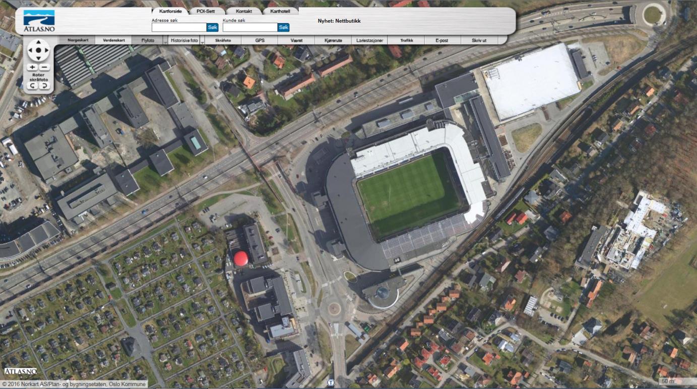 ullevål stadion kart HISTORISKE KART, ULLEVÅL STADION | 12 Trinns Bedriften,   Det  ullevål stadion kart