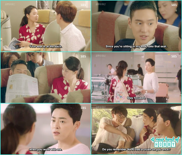 na ri get a chance to go on a business trip to bangkok to do makeup in half price  - Jealousy Incarnate - Episode 1 Review