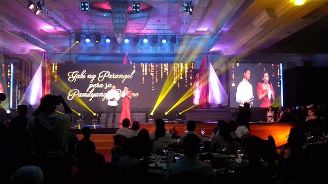 Gabi ng Parangal para sa Pamilyang Pilipino's able hosts were Issa Litton and Mikael Daez.