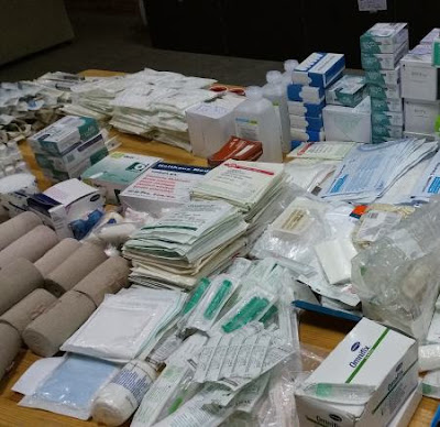 Νέα δωρεά ιατροφαρμακευτικού υλικού προς το Κρατικό Νοσοκομείο Κατερίνης