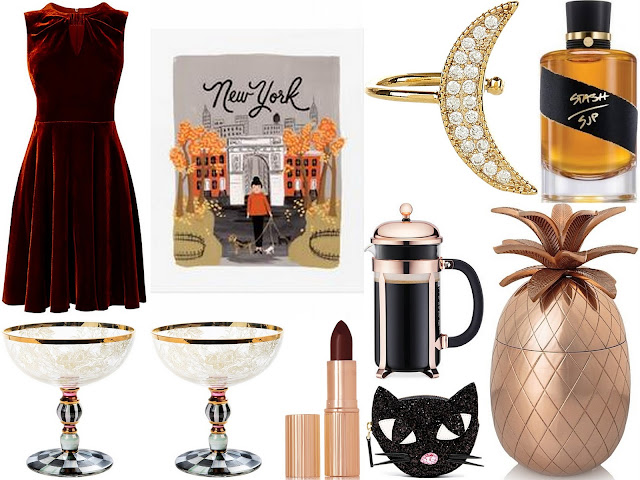 rose gold christmas wishlist