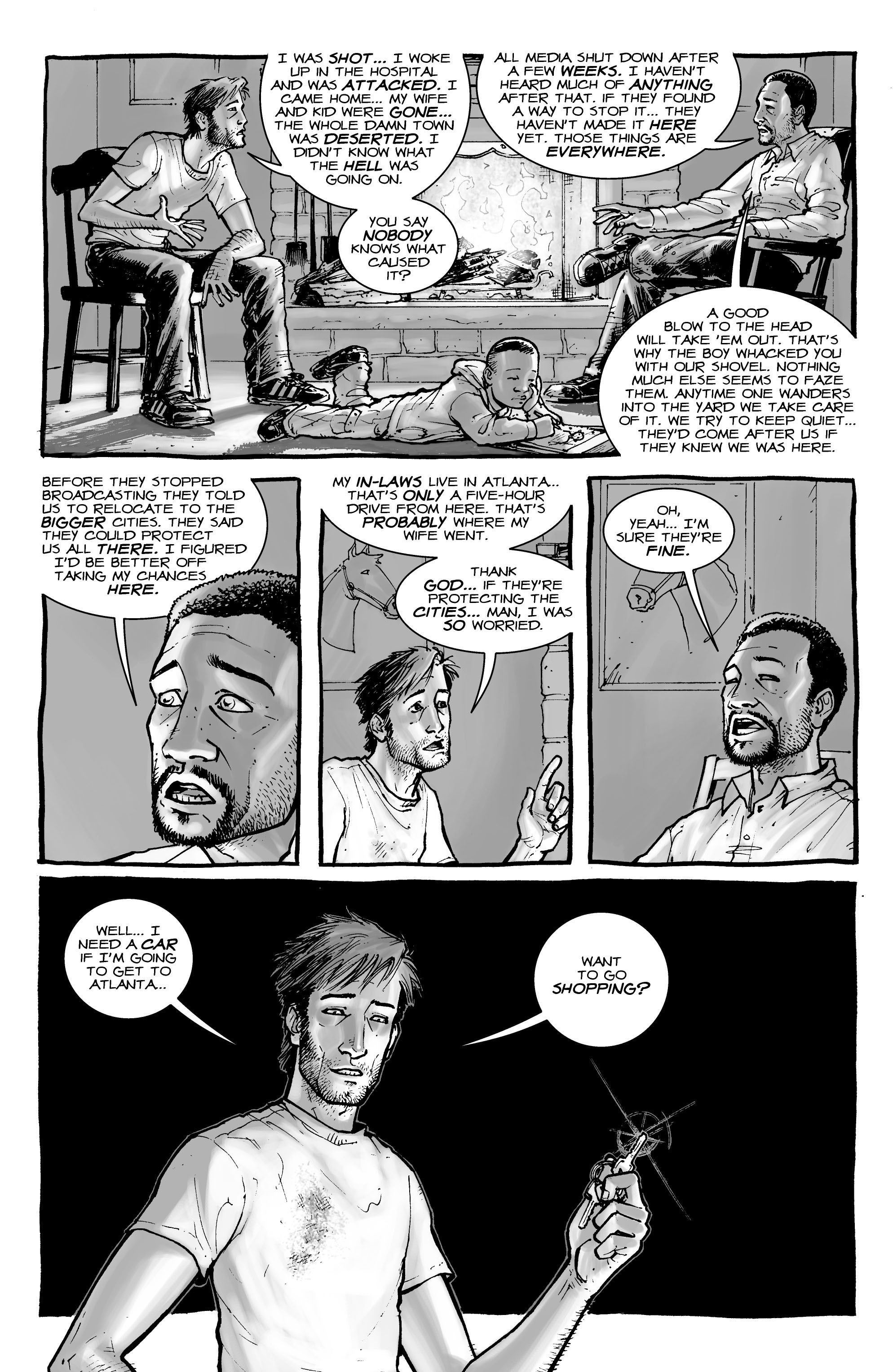 The Walking Dead issue 1 - Page 18
