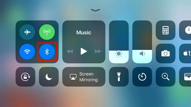 Mematikan Bluetooth Sementara