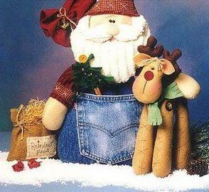muñeco-santa-claus-reciclando-jeans