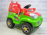2 Mobil Mainan Aki Pliko PK8518N 4x4 Jeep Max Express