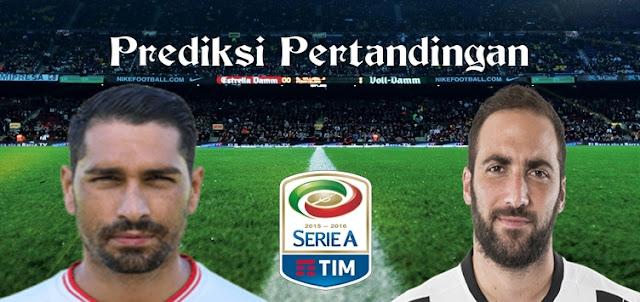 Prediksi Pertandingan Cagliari vs Juventus 13 Februari 2017
