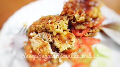 Resep Burger Mi Instan Daging Ayam