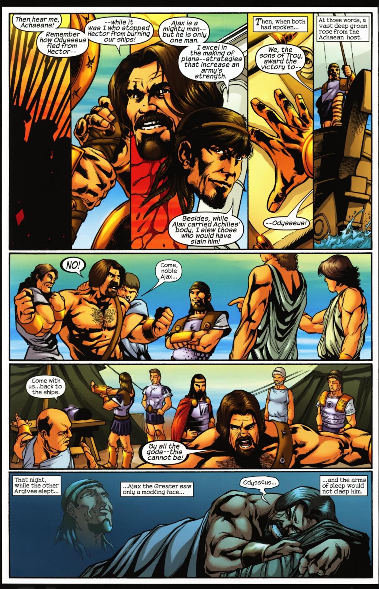 Read online Trojan War comic -  Issue #4 - 6