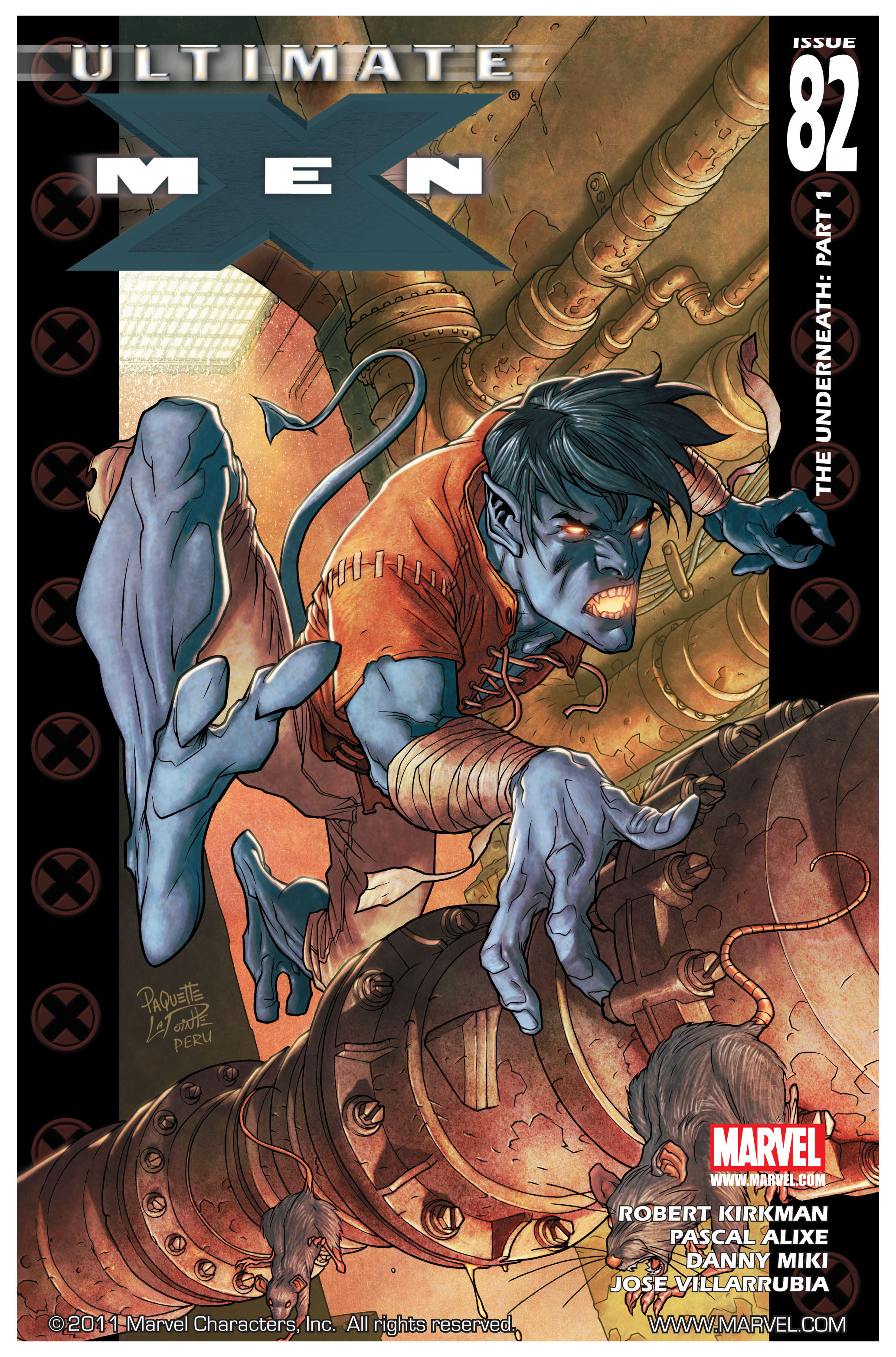 Read online Ultimate X-Men comic -  Issue #82 - 1