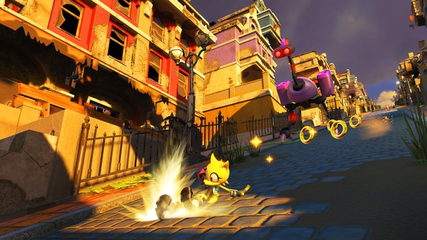 Sonic Forces PC Game Free Download Screenshot 1